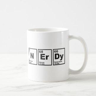 Elementos Nerdy Taza De Café