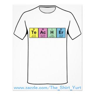 Elementos químicos del profesor de ciencias