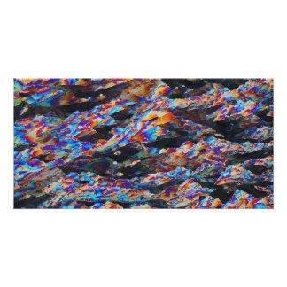 Elements/Aluminum under the microscope Card