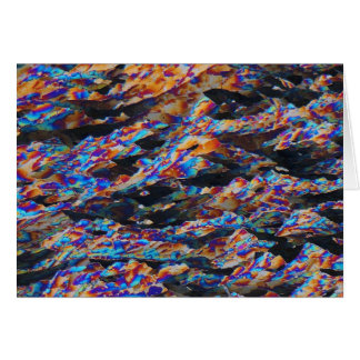 Elements/Aluminum under the microscope Greeting Cards