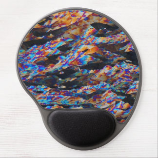 Elements/Aluminum under the microscope Gel Mouse Pad