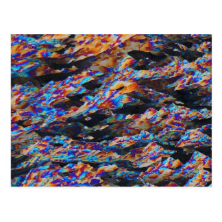 Elements/Aluminum under the microscope Postcards