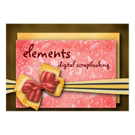 elements... business cards