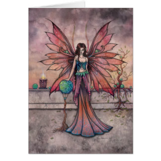 Elements in Sync Fairy Fantasy Art Card