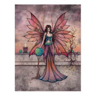 Elements in Sync Fairy Fantasy Art Postcard