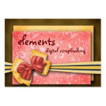 elements... large business cards (Pack of 100)