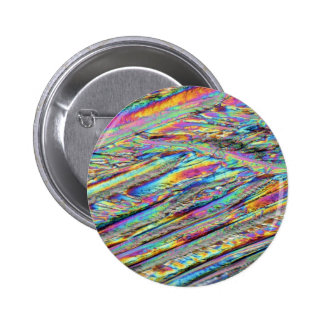 Elements Magnesium under the microscope Pinback Button