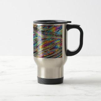 Elements/Magnesium under the microscope 15 Oz Stainless Steel Travel Mug