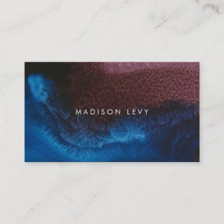 Elements Minimalist Modern Contemporary Business Appointment Card