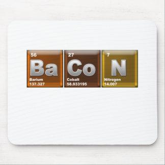 Elements of BaCoN Mouse Pad