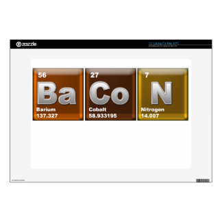 Elements of BaCoN Skins For Laptops