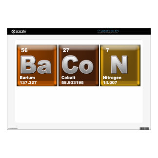 Elements of BaCoN Decals For Laptops