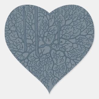 Elements of Botany: Mold Heart Sticker