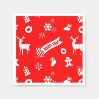 Elements of Christmas Paper Napkin