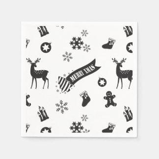 Elements of Christmas - Solemn Paper Napkin