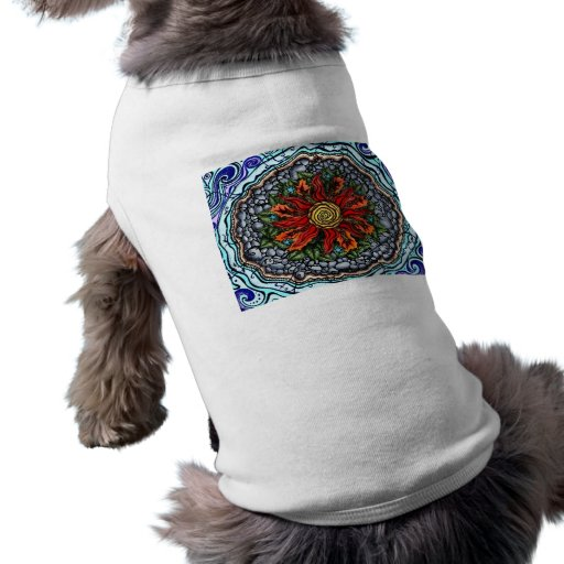 Elements of Creation (color) doggie t-shirt