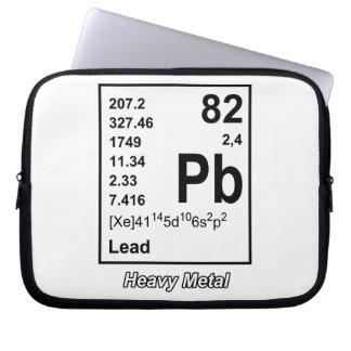 Elements of Heavy Metal Laptop Sleeve