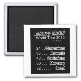 Elements of Heavy Metal World Tour Magnet