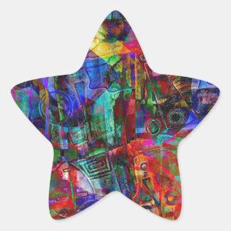 ELEMENTS OF JAZZ 10.jpg Star Sticker