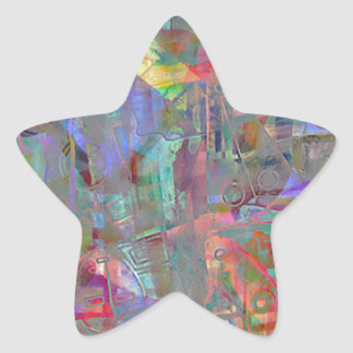 ELEMENTS OF JAZZ 11.jpg Star Sticker