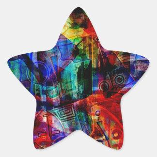 ELEMENTS OF JAZZ 12.jpg Star Sticker