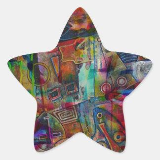 ELEMENTS OF JAZZ 1.jpg Star Sticker