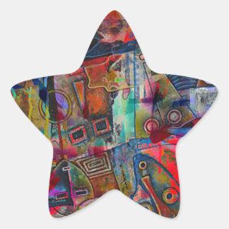 ELEMENTS OF JAZZ 2.jpg Star Sticker