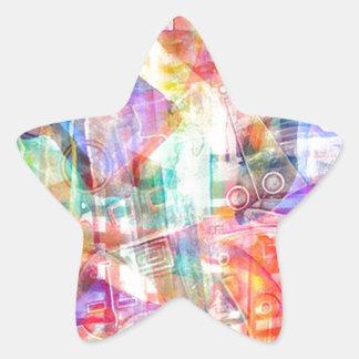 ELEMENTS OF JAZZ 3.jpg Star Sticker