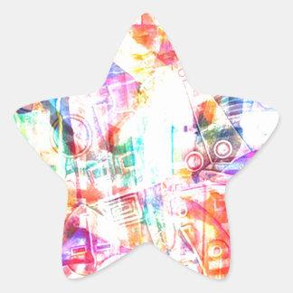 ELEMENTS OF JAZZ 4.jpg Star Sticker