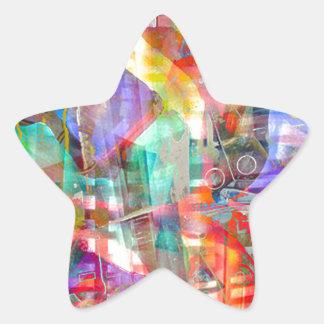 ELEMENTS OF JAZZ 5.jpg Star Sticker