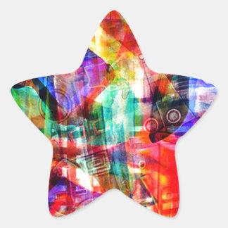 ELEMENTS OF JAZZ 6.jpg Star Sticker