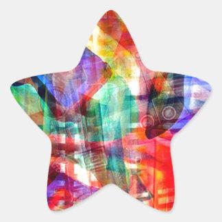 ELEMENTS OF JAZZ 7.jpg Star Sticker
