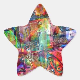 ELEMENTS OF JAZZ 9.jpg Star Sticker