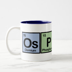 Two-Tone Mug with Osprey Made Of Elements design