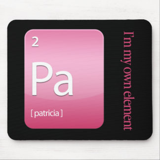 Elements: Patricia Mouse Pad