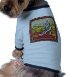 Elements series- Fire symbol Dog Clothing