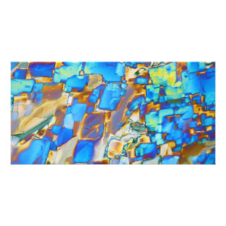 Elements/Yttrium under the microscope Card