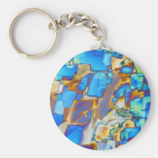 Elements/Yttrium under the microscope Key Chains