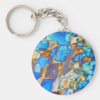 Elements/Yttrium under the microscope Keychain