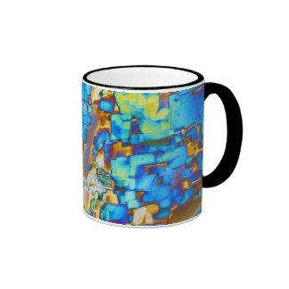 Elements/Yttrium under the microscope Ringer Coffee Mug