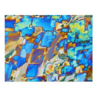 Elements/Yttrium under the microscope Postcard