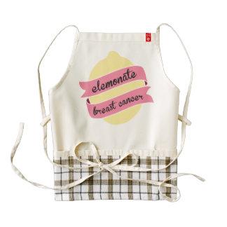 Elemonate Breast Cancer Apron Zazzle HEART Apron