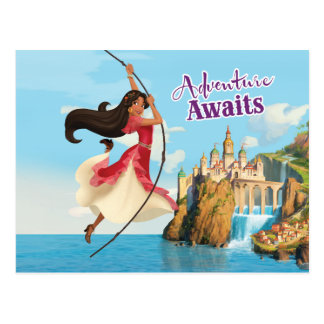 Elena   Adventure Awaits Postcard
