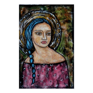 Elena - ángel - poster