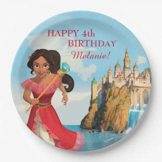 Elena del cumpleaños de Avalor el | Platos De Papel