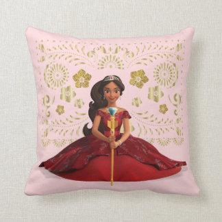 Elena | Elena Dressed Royally Throw Pillow