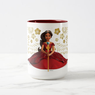 Elena | Elena Dressed Royally Two-Tone Coffee Mug