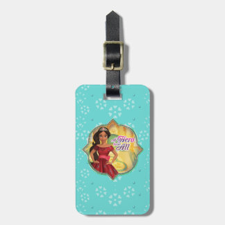 Elena & Isabel   A Hero To Us All Luggage Tag