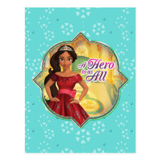 Elena & Isabel | A Hero To Us All Postcard