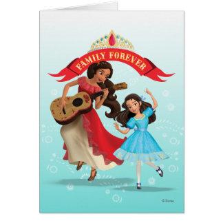 Elena & Isabel | Sister Time Card